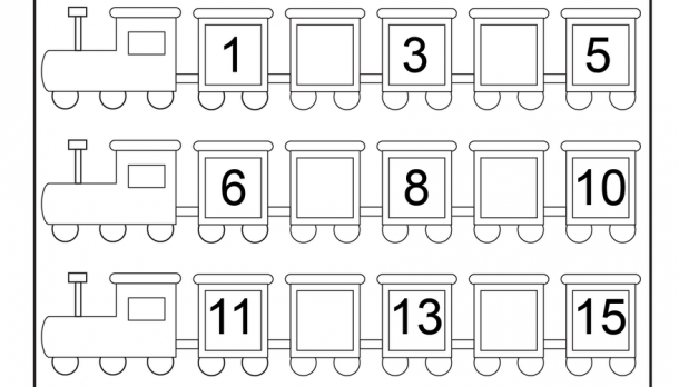 Counting Worksheets 1- 15