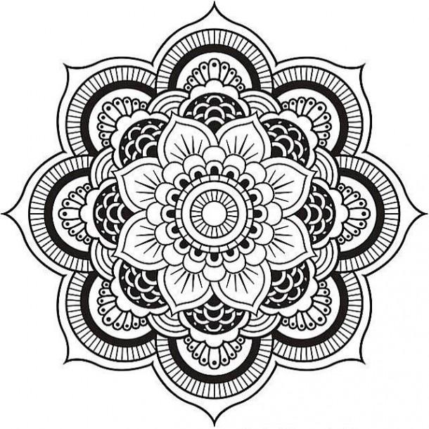 Mandala Coloring Worksheets