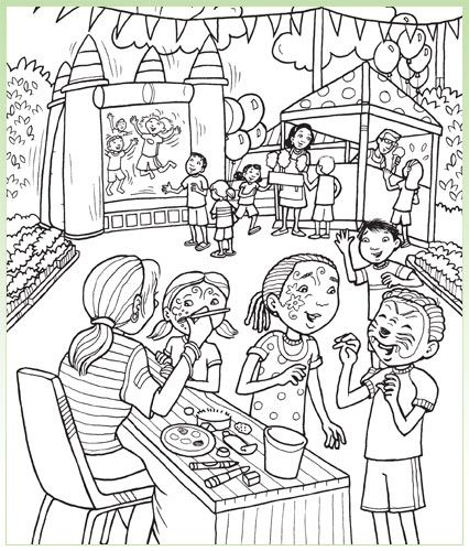 Fun Hidden Pictures Worksheets