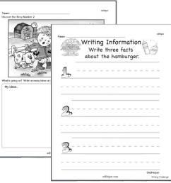 Writing Worksheets for Creative Kids   Free PDF Printables   edHelper.com [ 900 x 900 Pixel ]