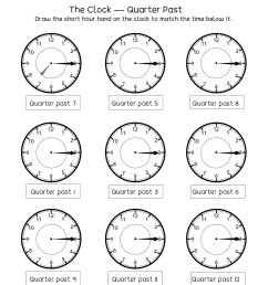 Telling Time Worksheets - O'clock And Half Past on Worksheets Ideas 3073 [ 1650 x 1276 Pixel ]