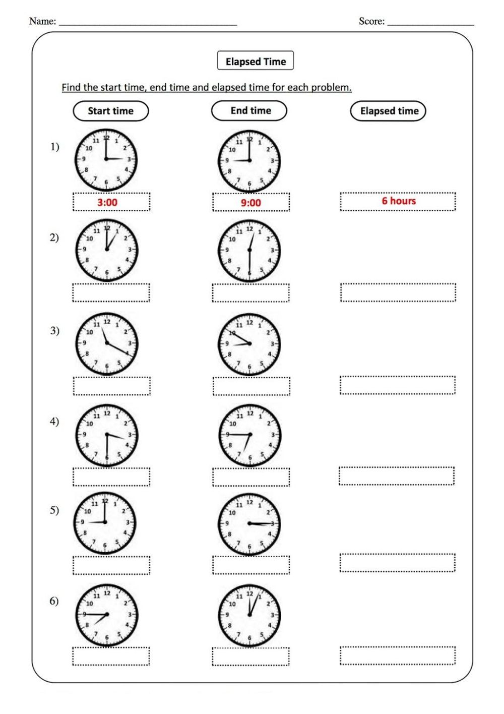 medium resolution of Telling Time Worksheets - O'clock And Half Past on Worksheets Ideas 3073