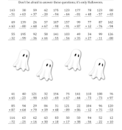 21 Best Halloween Math Worksheets Grade 5 images on Worksheets Ideas [ 1584 x 1224 Pixel ]