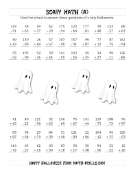 hight resolution of 21 Best Halloween Math Worksheets Grade 5 images on Worksheets Ideas