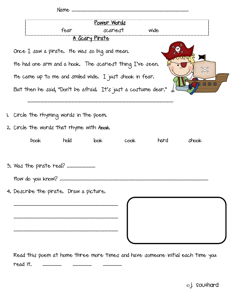 hight resolution of 17 Best 2nd Grade Rhyming Worksheets images on Worksheets Ideas