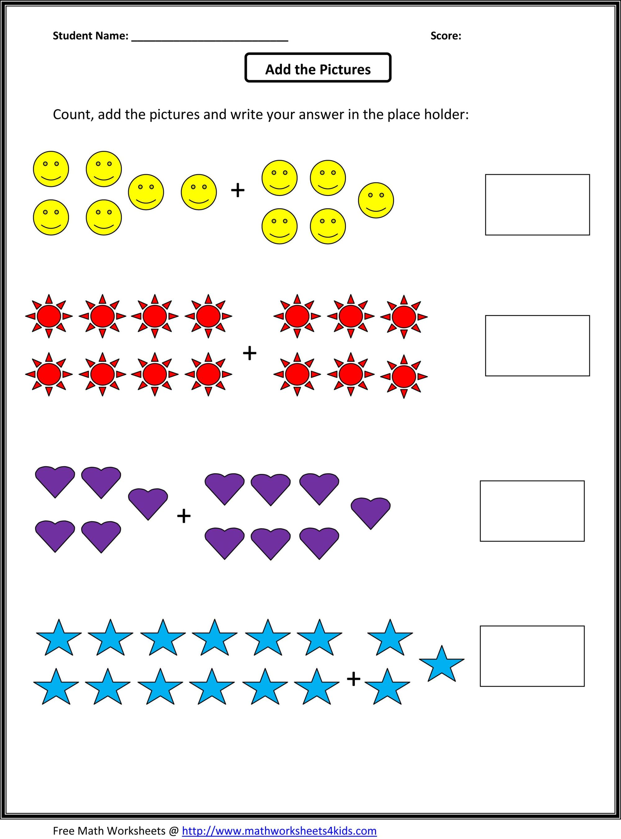 hight resolution of Grade 1 Addition Math Worksheets   First Grade Math on Worksheets Ideas 4580
