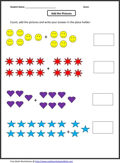 small resolution of Grade 1 Addition Math Worksheets   First Grade Math on Worksheets Ideas 4580
