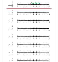 Free Printable Number Addition Worksheets (1-10) For on Worksheets Ideas  5538 [ 1403 x 992 Pixel ]