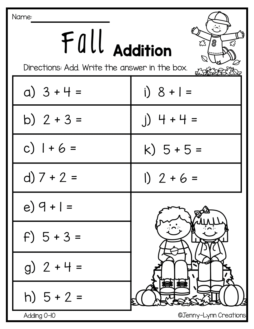 medium resolution of Beginner Addition – 6 Kindergarten Addition Worksheets on Worksheets Ideas  2385
