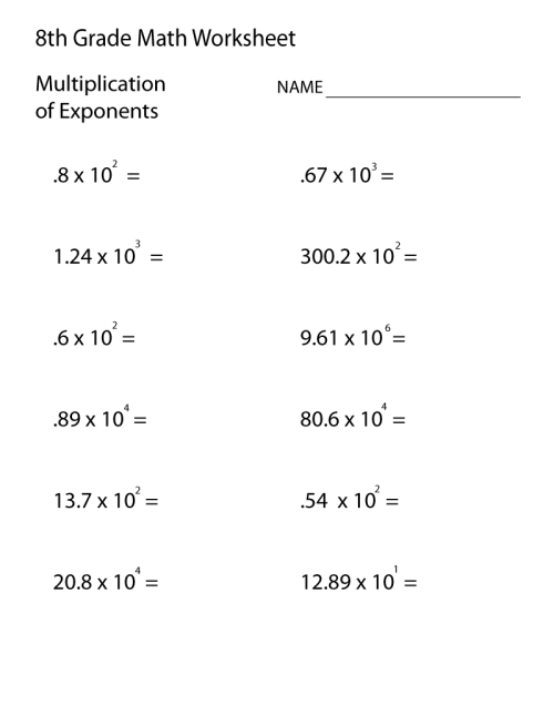small resolution of 14 Best Math Worksheets For 7th And 8th Grade images on Worksheets Ideas