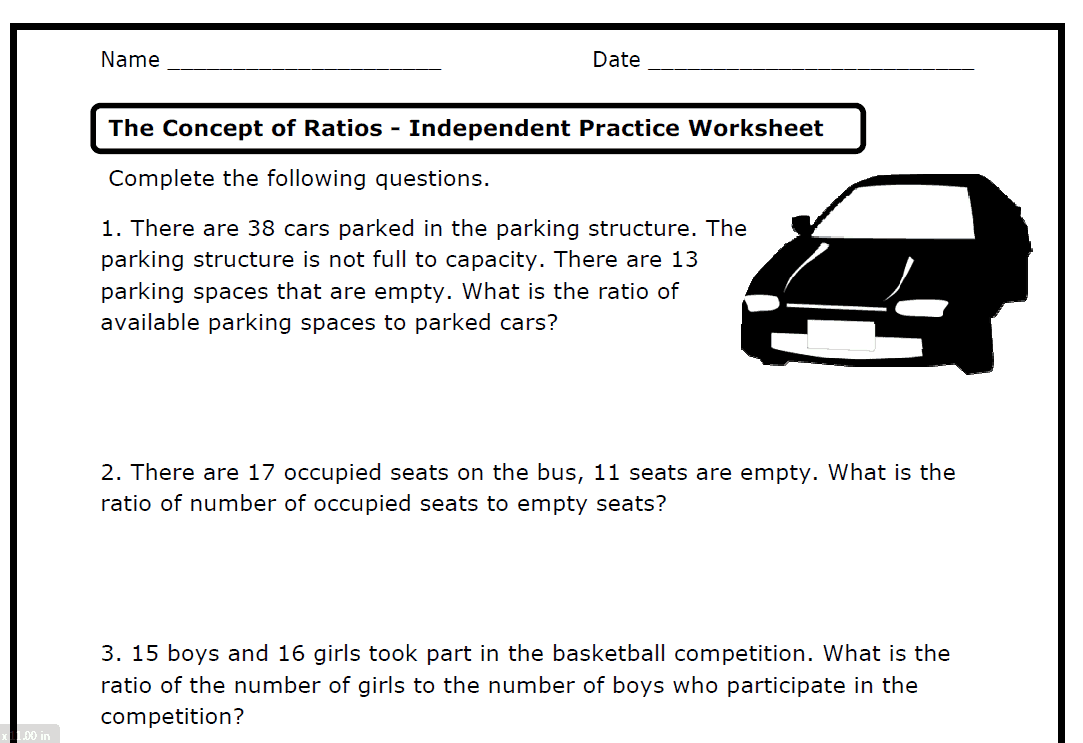 hight resolution of 10 Best 7th Grade Ratios And Rates Worksheets images on Worksheets Ideas