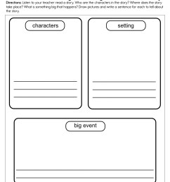 Story Elements Worksheets   Have Fun Teaching on Worksheets Ideas 780 [ 1294 x 1000 Pixel ]
