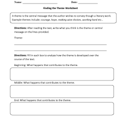 11 Best Finding The Main Idea Worksheets 2nd Grade Fiction images on Worksheets  Ideas [ 1650 x 1275 Pixel ]