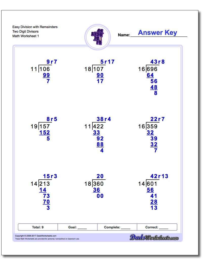 hight resolution of 12 Best Without Remainders Worksheets images on Worksheets Ideas