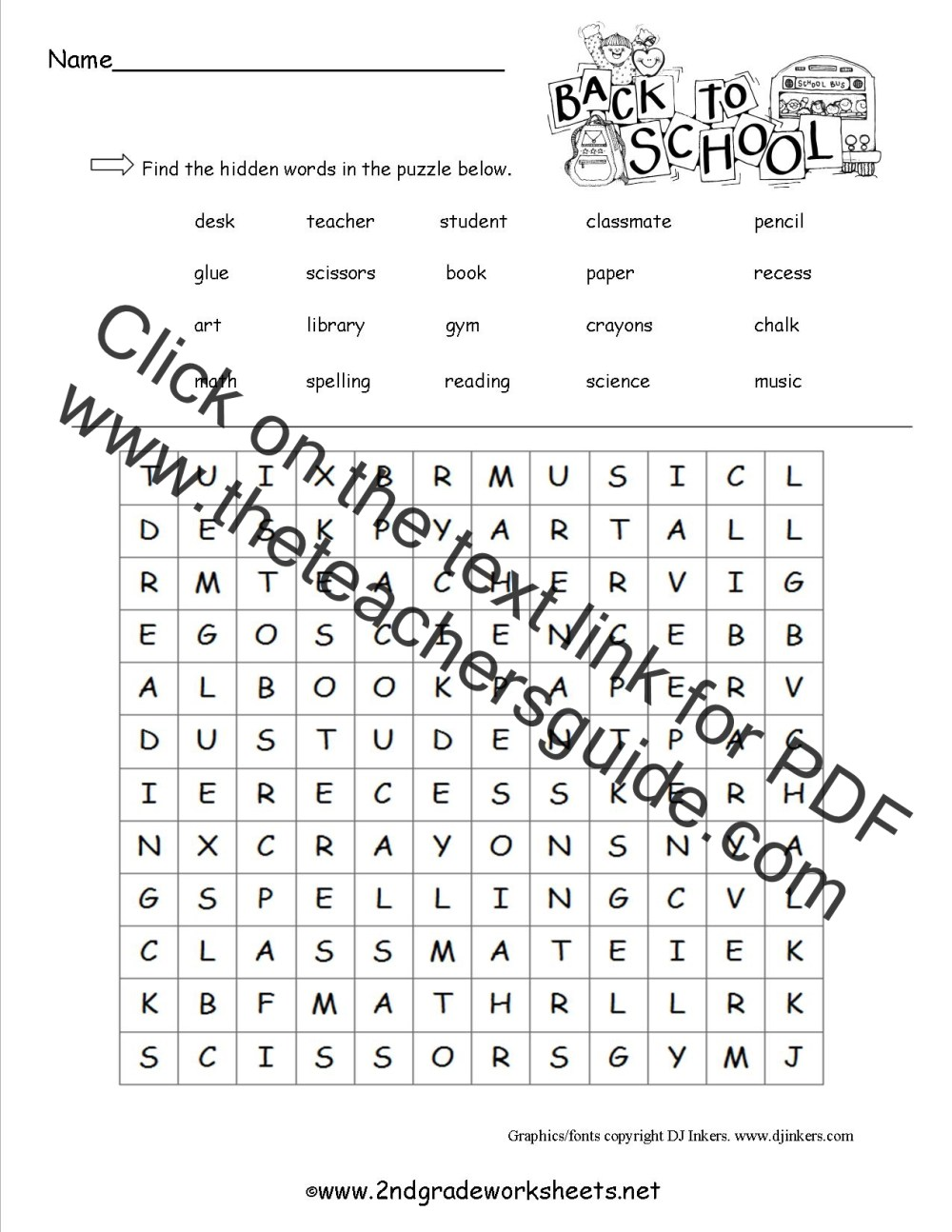 medium resolution of 12 Best 2nd Grade Worksheets Word Search images on Worksheets Ideas