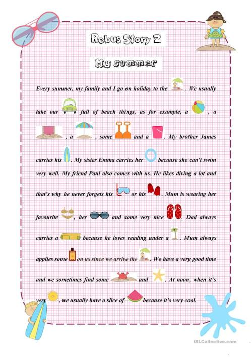 small resolution of A Birthday Party (a Rebus) - English Esl Worksheets on Worksheets Ideas 6168