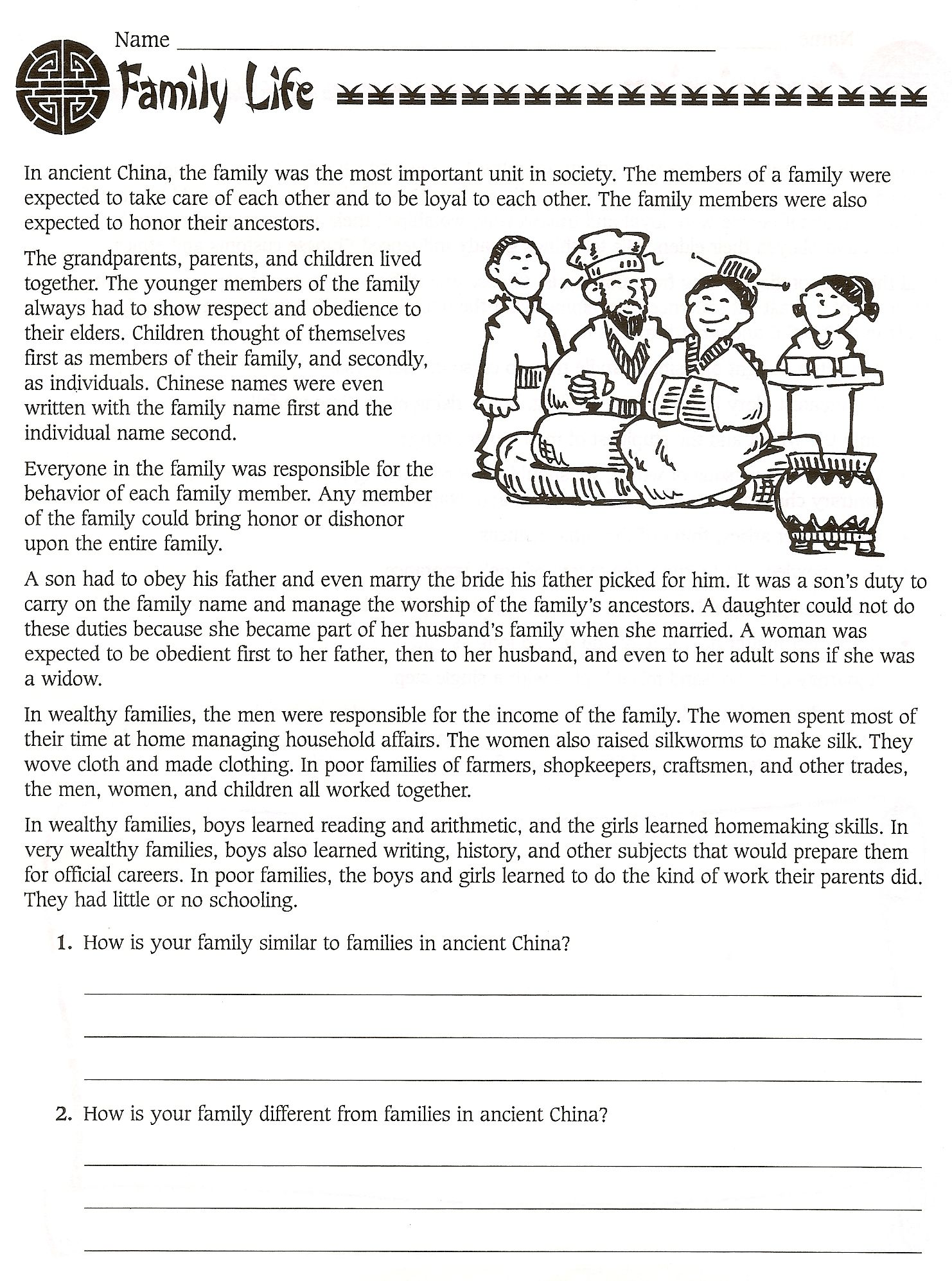 hight resolution of 6 Best 6th Grade Ancient History Worksheets images on Worksheets Ideas