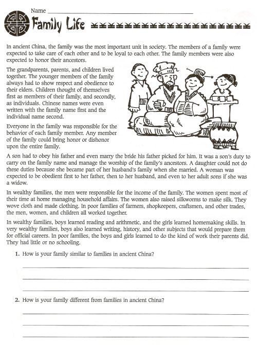 small resolution of 6 Best 6th Grade Ancient History Worksheets images on Worksheets Ideas