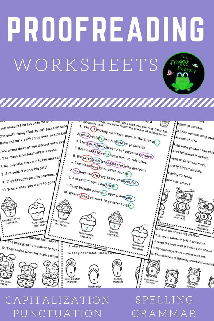 hight resolution of 13 Best Proofreading Worksheets images on Worksheets Ideas