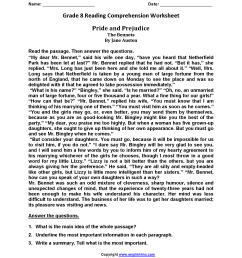 22 Best Eighth Grade English Worksheets images on Worksheets Ideas [ 2200 x 1700 Pixel ]