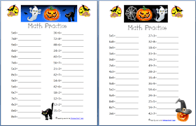 hight resolution of Halloween Math Worksheets 4th Grade on Worksheets Ideas 8951
