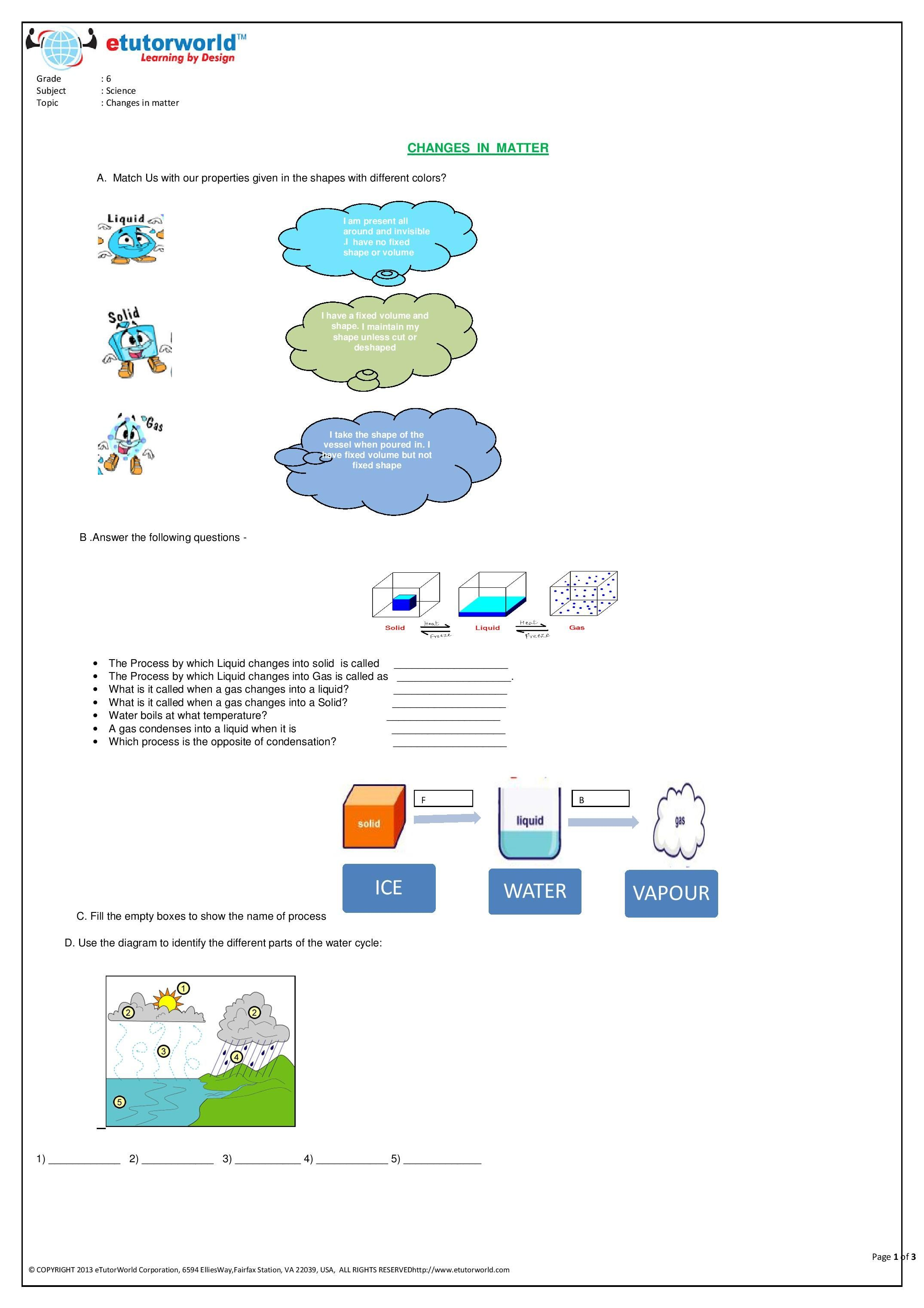 10 Best Fun Grade 6 Science Worksheets Images On