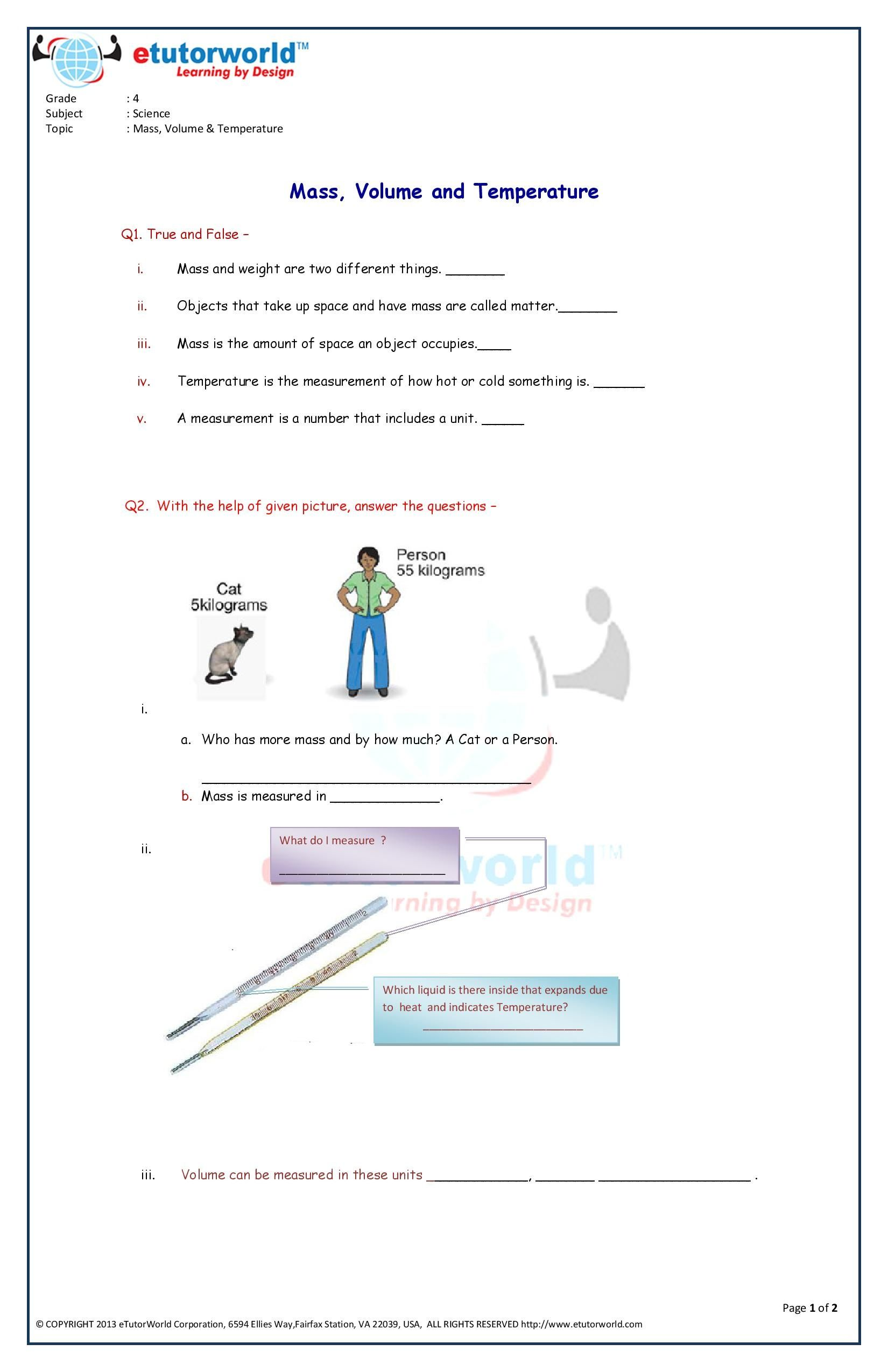 hight resolution of Pin By Etutorworld Inc On Grade 4 Science Worksheets on Worksheets Ideas  8250