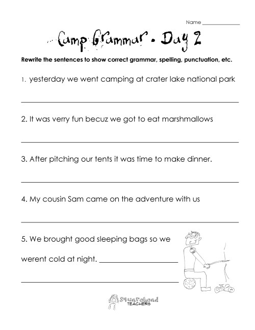 small resolution of 18 Best Fourth Grade Grammar Worksheets images on Worksheets Ideas