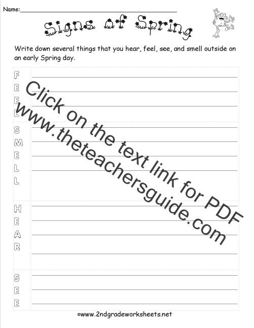 small resolution of 15 Best 2nd Grade Spring Worksheets images on Worksheets Ideas