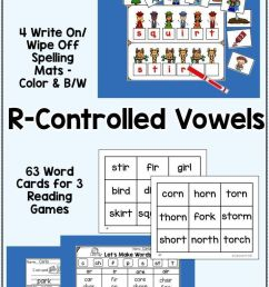 21 Best R Controlled Worksheets 1st Grade images on Worksheets Ideas [ 1472 x 736 Pixel ]