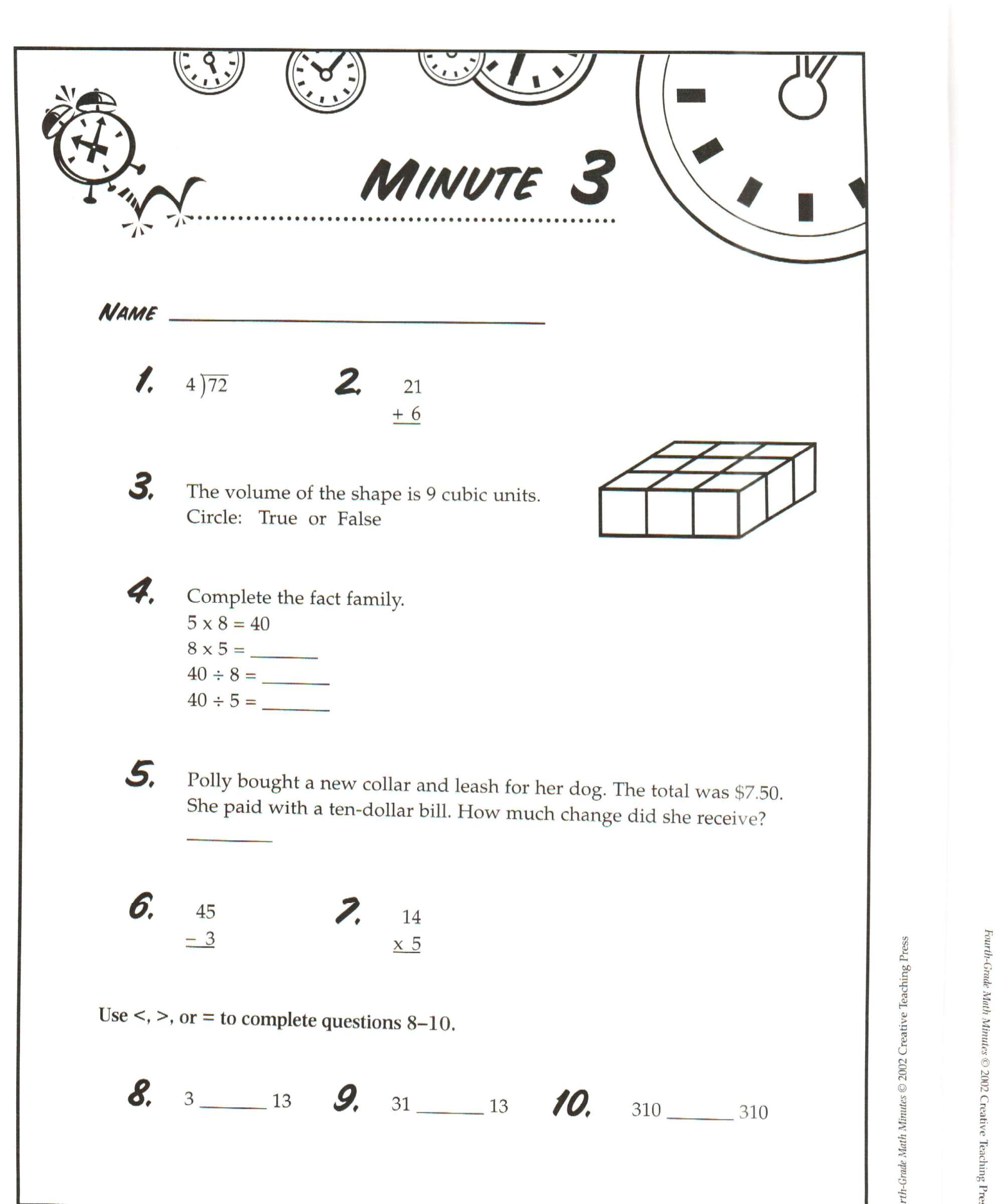 hight resolution of 14 Best Daily Math Worksheets images on Worksheets Ideas