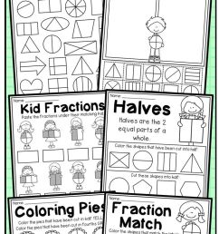 19 Best Fractions Thirds Worksheets images on Worksheets Ideas [ 1559 x 736 Pixel ]