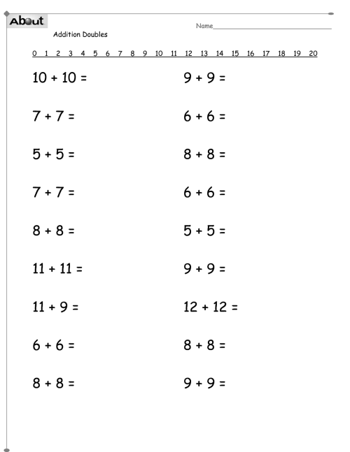 small resolution of Addition Worksheet For Grade 1   Printable Worksheets And on Worksheets  Ideas 866