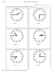 small resolution of 22 Best Clock Worksheets Grade 2 images on Worksheets Ideas