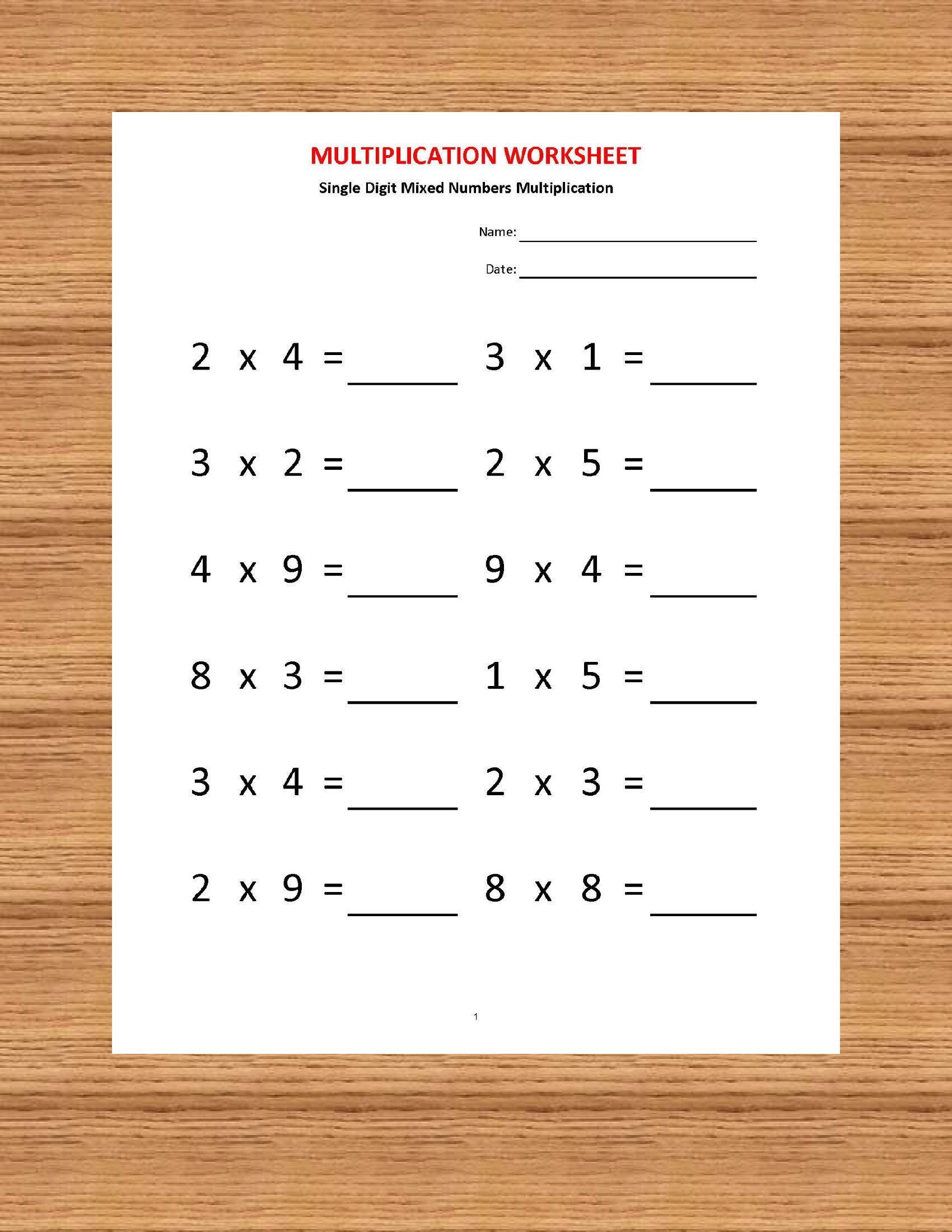 Best Worksheets For Kids Page 8