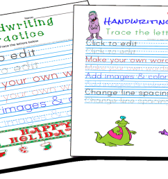 Handwriting Practice and Copywork Worksheets Maker [ 700 x 1200 Pixel ]