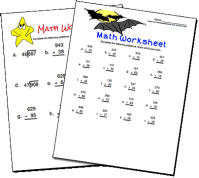 Create Your Own Maths Worksheets