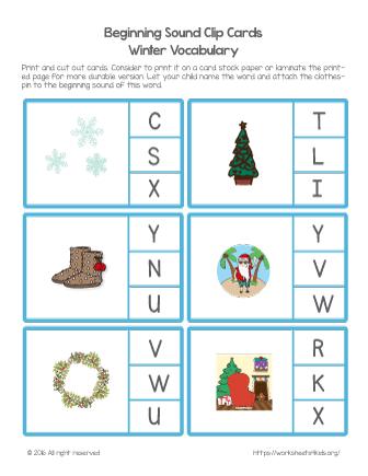 christmas printable worksheets free