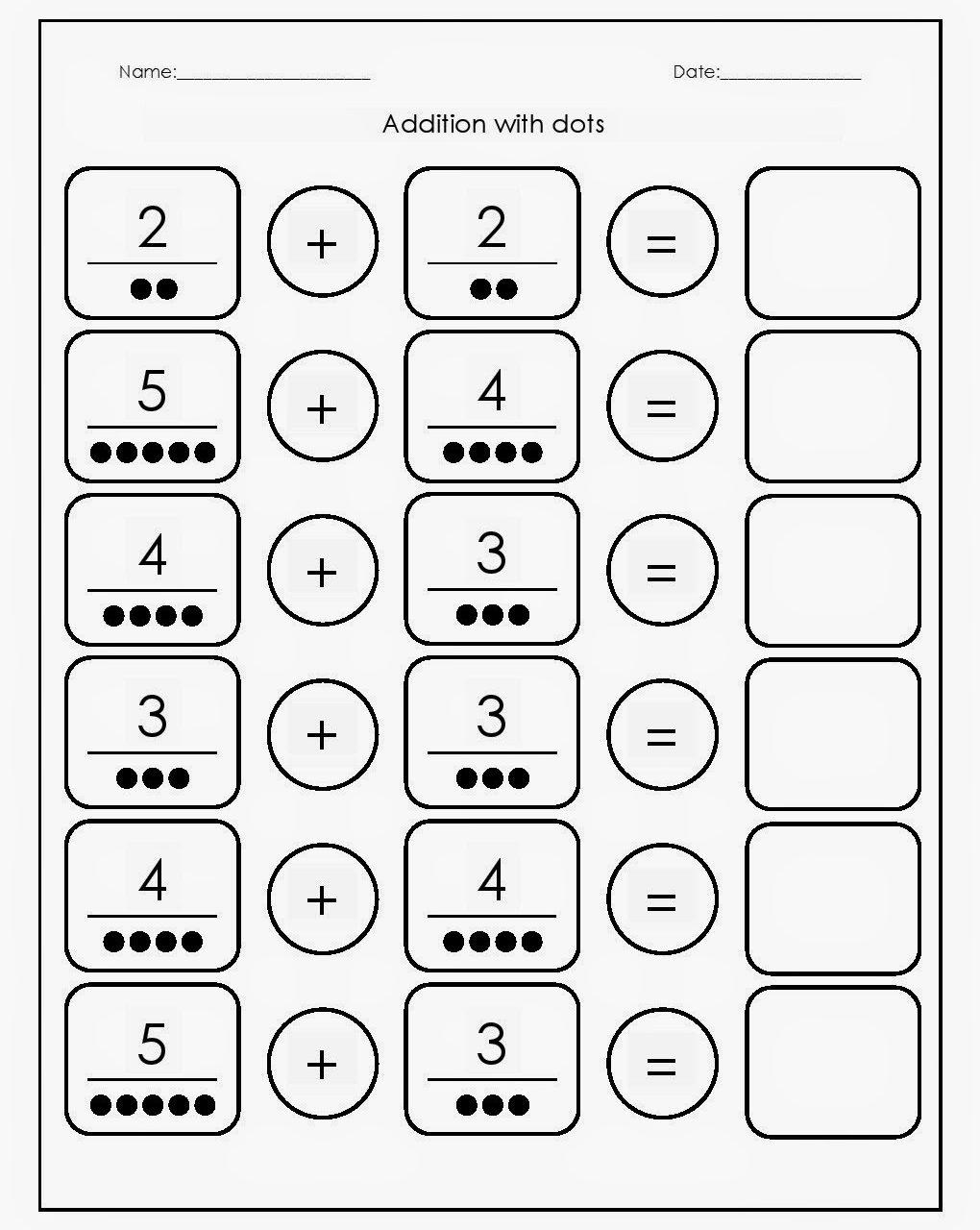 {Download PDF} Free Printable Preschool Math Worksheets