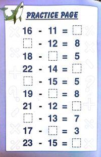 {Download PDF} Free Printable subtraction worksheets 1st ...