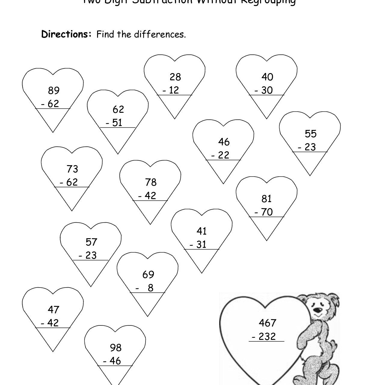 Subtraction Within 20 Coloring Worksheets