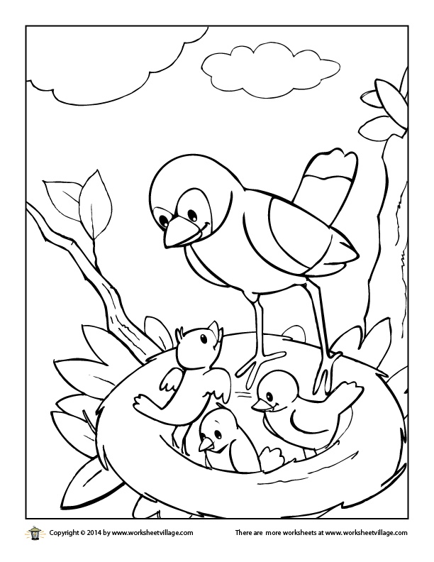 African Village Coloring Pages Coloring Pages