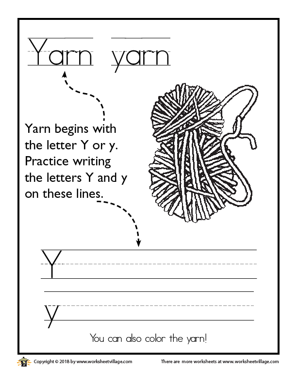 Yarn and the Letter Y