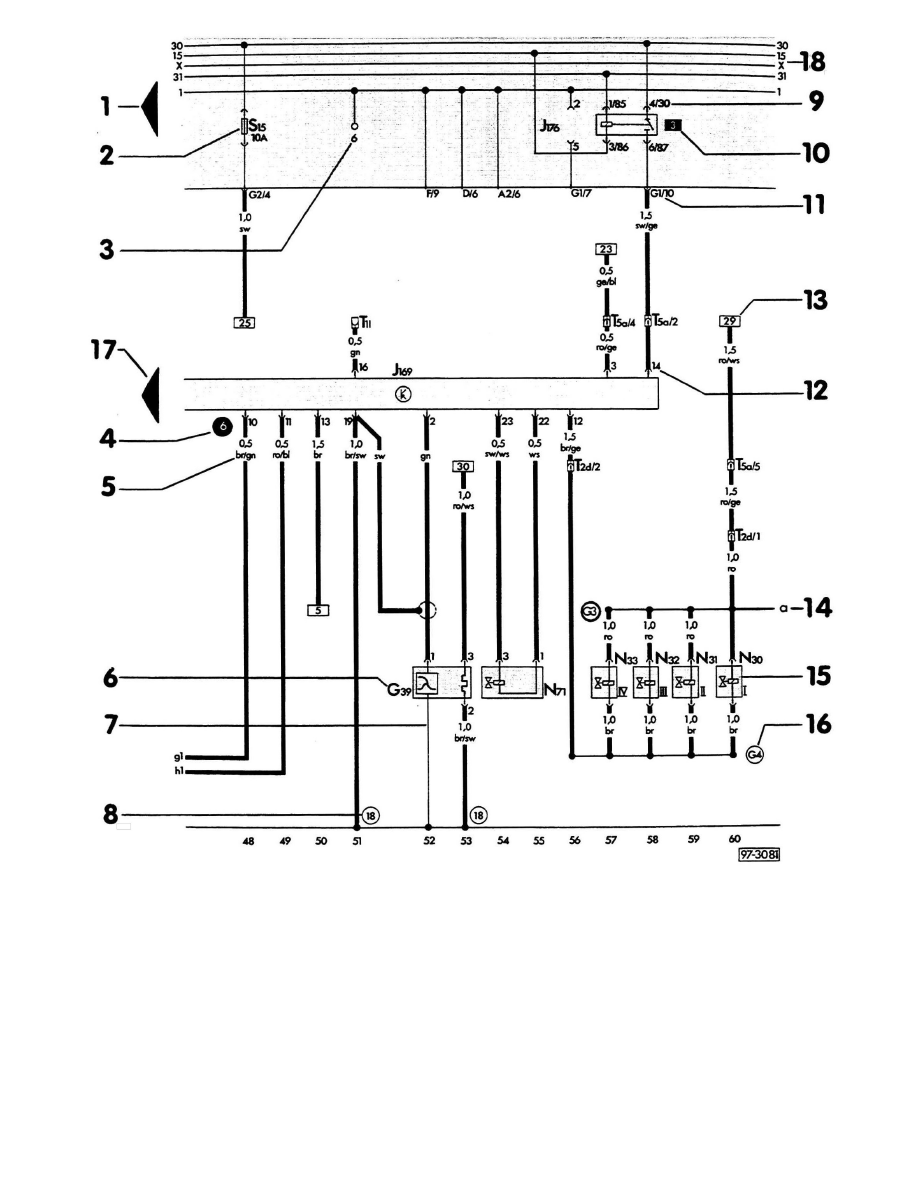 Audi Workshop Manuals > 100 Sedan L5-2309cc 2.3L SOHC (NF