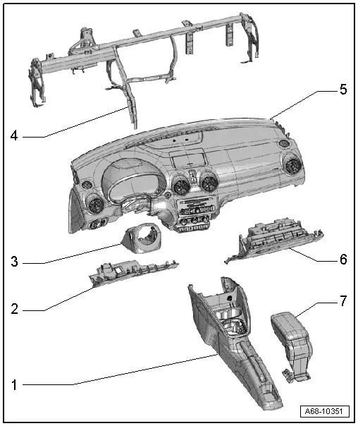 Audi Workshop Manuals > A1 > Body > General body repairs