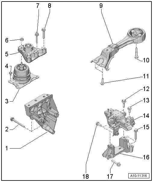 Audi Workshop Manuals > A1 > Power unit > 4-cylinder TDI
