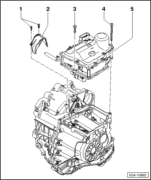Audi Workshop Manuals > A1 > Power transmission > 7-speed
