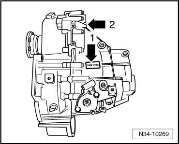 Audi Workshop Manuals > A1 > Power transmission > 6-speed