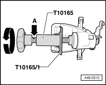 Audi Workshop Manuals > A1 > Brake system > Brake, brake