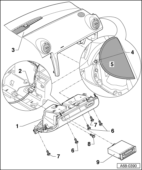Service manual [How To Remove A 1998 Audi Cabriolet Glove